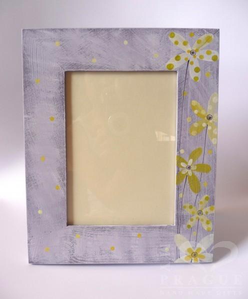 Rámeček na foto (L) – fialový