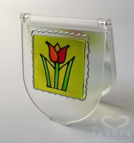 Zrcátko – tulipán