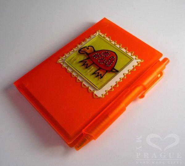 Zápisník – želva