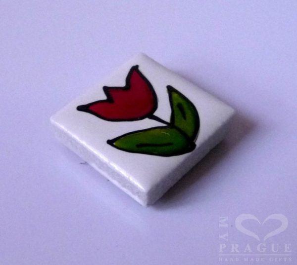 Magnet – tulipán