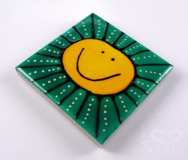 Magnet – slunce (barevné pozadí)