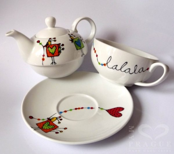 Sada na čaj – lalala