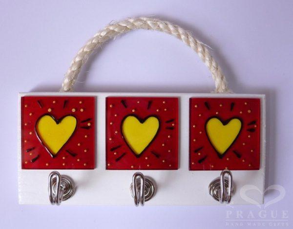 Věšák – srdce