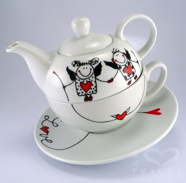 Sada na čaj – andílci