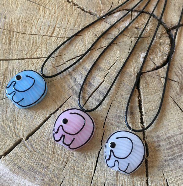 Přívěsek na krk – slon