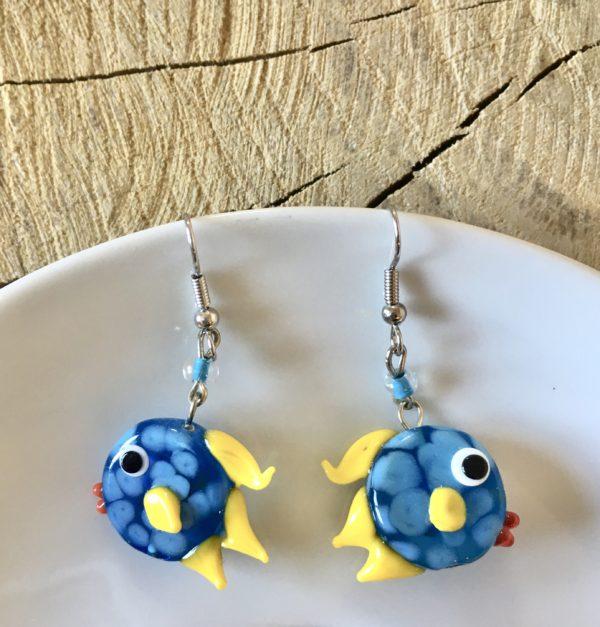 Náušnice – ryba